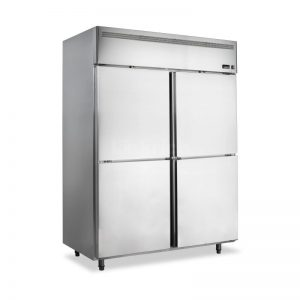Vertical Stainless steel Freezer